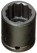 "PROTO J7414 - 1/2"" Drive and 7/16"" 12-Point Impact Socket"