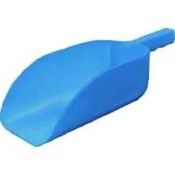 PLASTIC SCOOP 82 OZ  BLUE