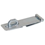 SAFETY HASP 21/2 W/FIXED STAPLE