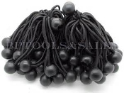 "9"" BALL BUNGEE STRAPS PER BAG/25"