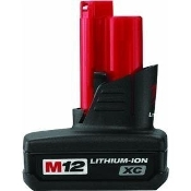 MILWAUKEE 48-11-2402  BATTERY M12 XC  RED LITHIUM 12V