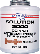 SOLUTION 2000 COPPER ANTI-SIEZE 1LB.CAN