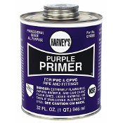 Harvey's 32 OZ PURPLE PVC PRIMER