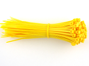 CABLE TIE 6 INCH  YELLOW (100 QTY.)