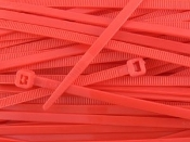 CABLE TIE 6 INCH RED (100QTY.)