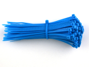 CABLE TIE 8 INCH BLUE 50 LB (100 QTY.)