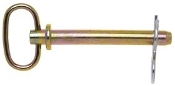 "Campbell  1"" x 4-1/2"" Hitch Pin w/Clip, Zinc Coated"