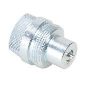 "COUPLER-HALF 1/4"" MALE NIPPLE"