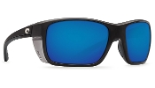 COSTA - ROOSTER MATTE BLACK BLUE MIRROR