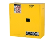 YELLOW SAFETY CABINET 43X44X18
