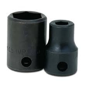 Williams 4-612  1\2in. Drive Shallow Impact Socket 6-Pt, 3\8in