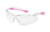CLEAR / PINK PARALLAX GLASSES