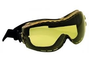 IRONWEAR 3930-A GOGGLE, AMBER POLYCARBONATE