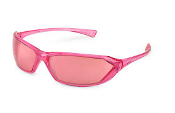 METRO PINK MIRROR SAFETY GLASSES