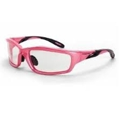 PINK FRAME CLEAR SAFETY GLASSES