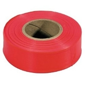 C.H. Hanson CHH17002- FLAG TAPE GLO RED