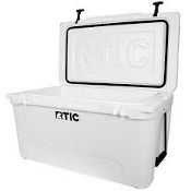 RTIC 65 QT WHITE COOLER