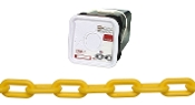 CAMPBELL 0990836 PLASTIC CHAIN 8 YELLOW