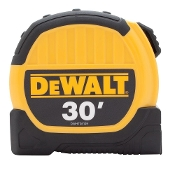 "DEWALT DWHT36109 1-1/8"" X 30FT TAPE"
