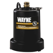 Wayne 1/4 HP Thermoplastic Utility Pump Model # TSC130