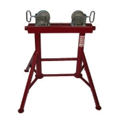 4 LEG STEEL WHEEL PIPE STAND