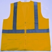 SAFETY VEST FLAME RETARDANT 3X