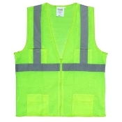 SAFETY VEST LIME GREEN
