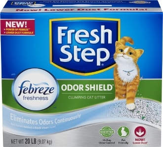ORG571-0223 FRESH STEP SCOOPABLE 20#