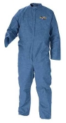 KCP58503 KLEENGUARD BLUE COVERALLS A20 LARGE BY CASE