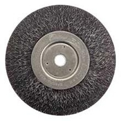 "WEILER 35117 WIRE WHEEL ENCAPSULATED 6""X5/8"