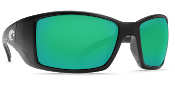 COSTA BL 11 OGMGLP BLACKFIN BLACK GREEN MIRROR