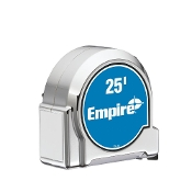 EMPIRE 300-25 25' CHROME TAPE MEASURE