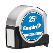 EMPIRE 500AL-25 25' AUTOLOCK TAPE MEASURE