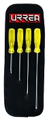 URREA URR9600C 4 PIECE SCREW DRIVER SET