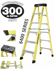 10'FIBERGLASS STEP LADDER