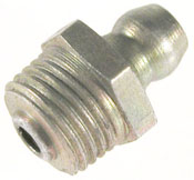 "Plews 11-101 1/4"" Grease Gun Fittings Straight Short Thread"