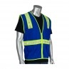 SAFETY VEST ROYAL BLUE