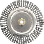 WEILER 09000 7X5/8-11 CARBON BUFFING WHEEL