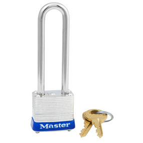 Master Lock #1 PADLOCK LONG SHANK KEYED ALIKE