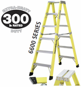 12' FG DOUBLE SIDED STEP LADDER