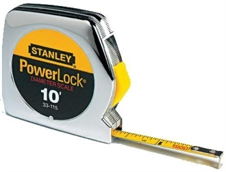 Stanley - 33-115 Pocket Tape Rule with Diameter Scale