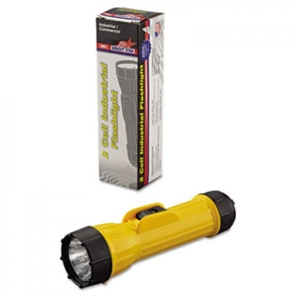 Bright Star Industrial Heavy Duty Flashlight, 2X D-CELL