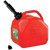 1 GALLON PLASTIC GAS CAN