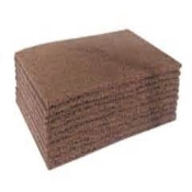 3-M 7440 SCOTCH BRITE PAD  BROWN