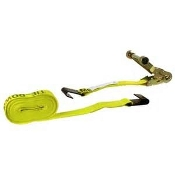 "2""X27' RATCHET STRAP W/WIRE HOOK"