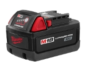 MILWAUKEE 48-11-1828 18VLT BATTERY - M18 XC