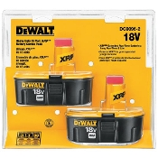DEWALT DC9096-2 TWIN PACK BATTERY 18.0 VLT XR