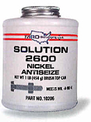 SOLUTION 2600 CAN NICKEL ANTISIEZE