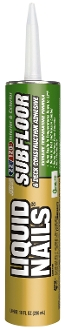 Subfloor & Deck Construction Adhesive 10 OZ