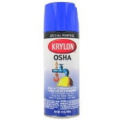 Krylon 1910 True Blue (OSHA Safety Blue) 12oz